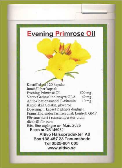 primrose oil svenska